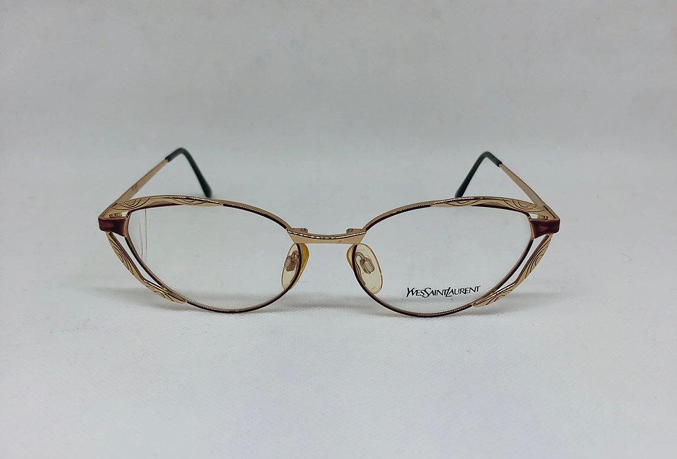 YVES SAINT LAURENT 4067 Y263 54 17 130 vintage glasses DEADSTOCK