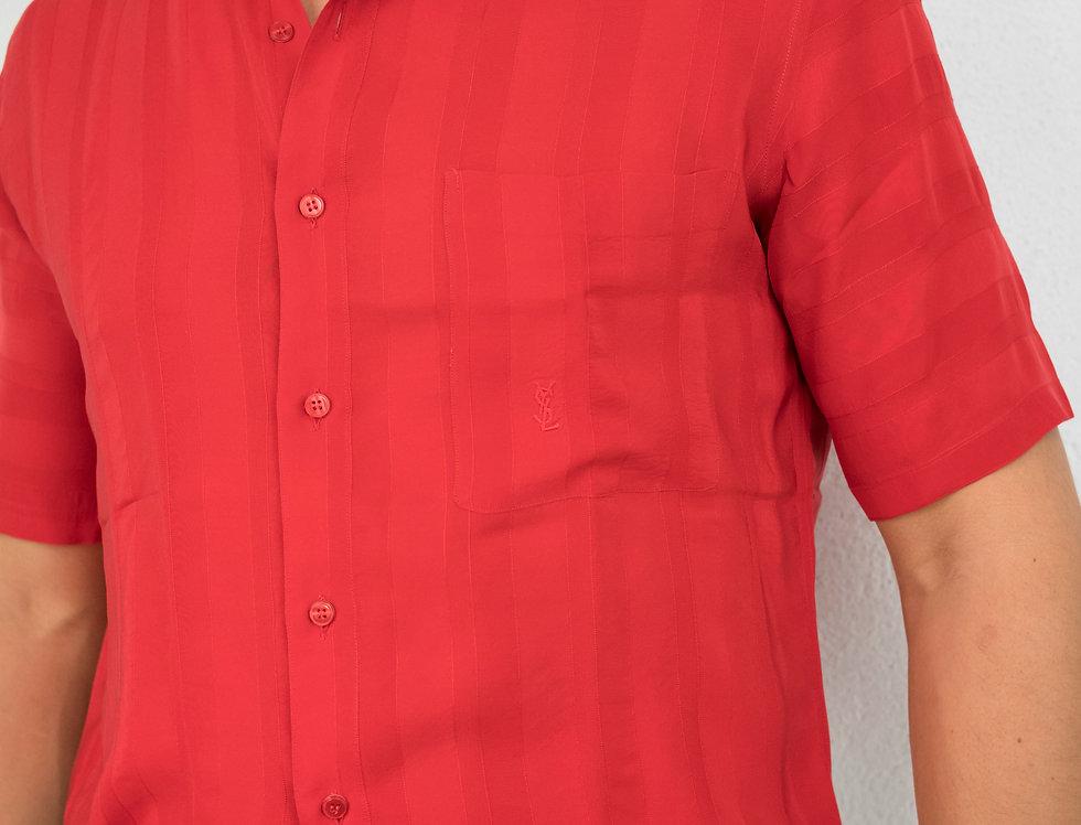 YVES SAINT LAURENT red shirt