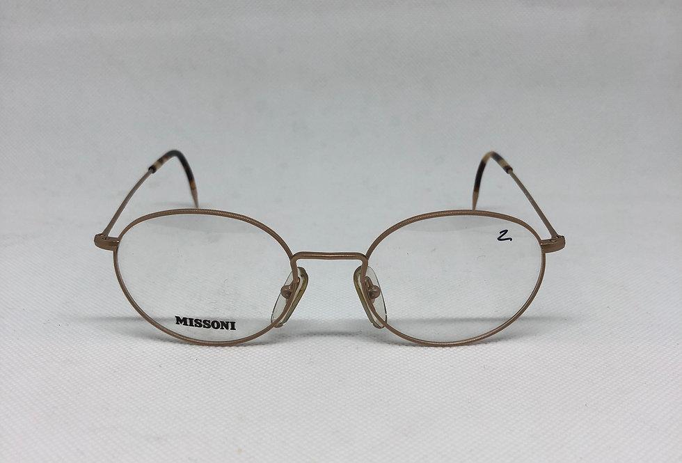 MISSONI m370 67s 140 vintagw glasses DEADSTOCK