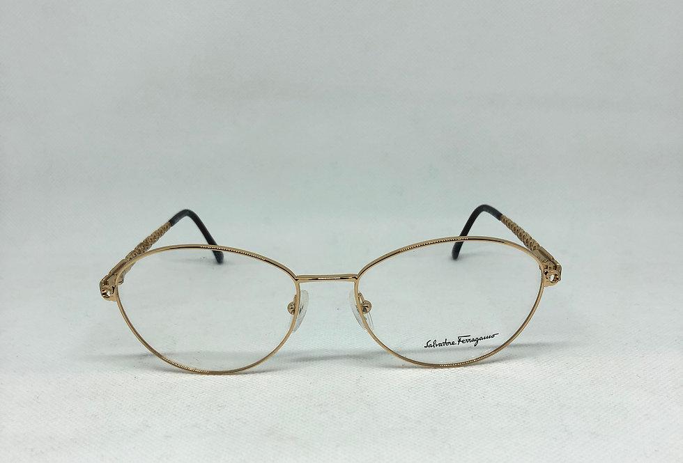 SALVATORE FERRAGAMO 1532 509 56 17 135 vintage glasses DEADSTOCK