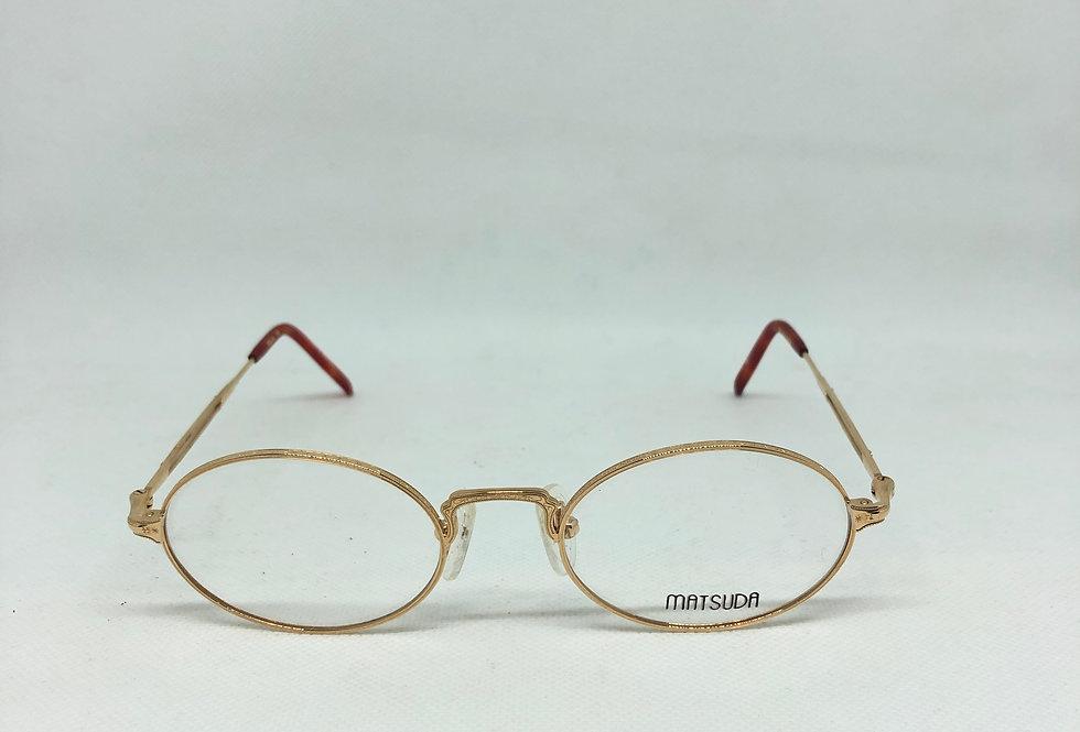 MATSUDA pg 2876 49 20 145 vintage glasses DEADSTOCK