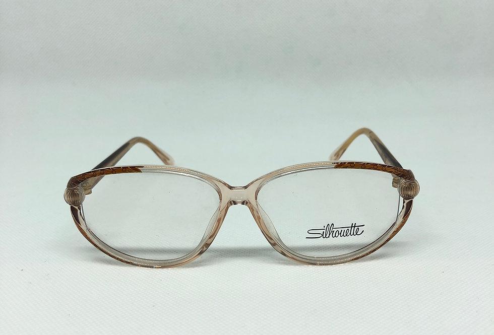 SILHOUETTE  m 1834 20 6050 54 12 130 vintage glasses DEADSTOCK