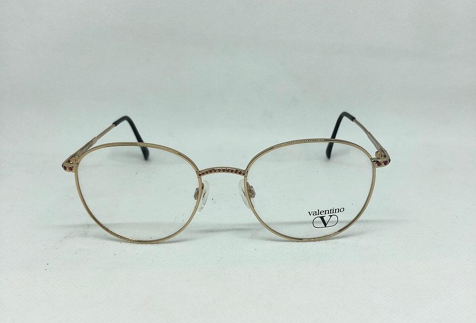 VALENTINO v386 1046 52 18 135 vintage glasses DEADSTOCK