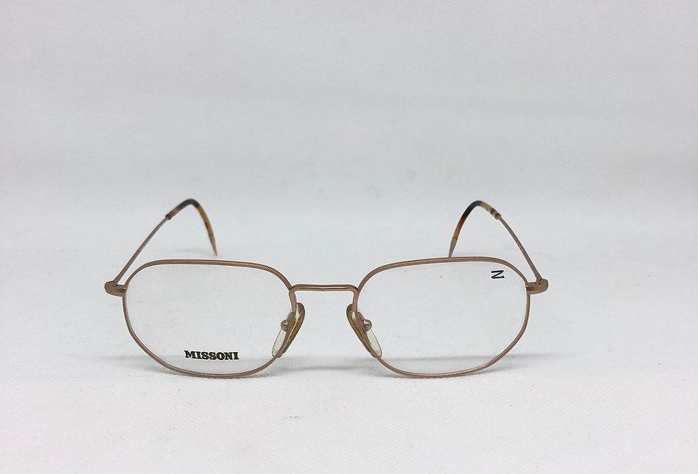 MISSONI 145 m389 67s vintage glasses DEADSTOCK