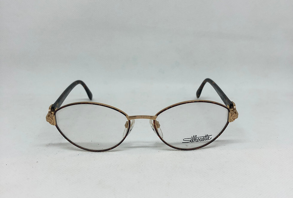 SILHOUETTE m 6312 /30 v 6051 53 17 130 vintage glasses DEADSTOCK