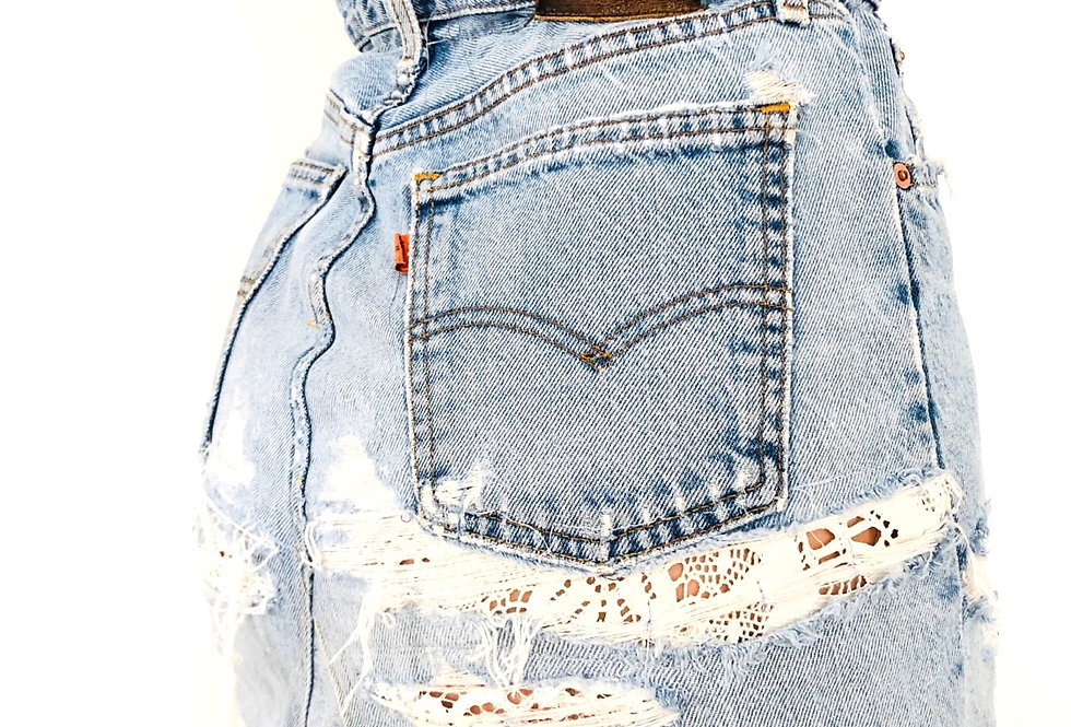 gonna-jeans-denim-caramella-vintage
