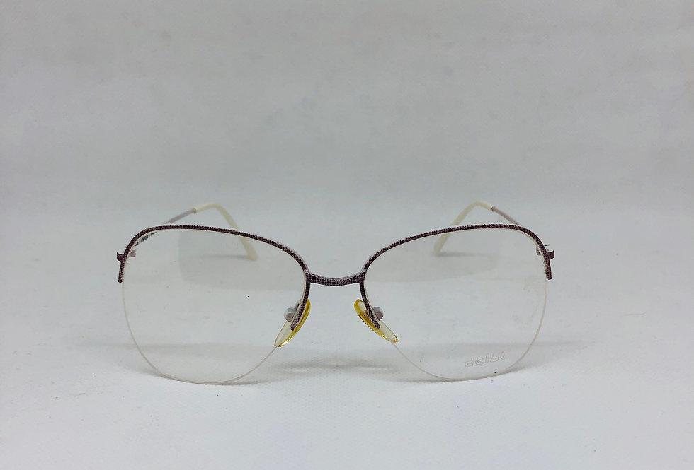 DELBA 620 52 18 d6 vintage glasses DEADSTOCK