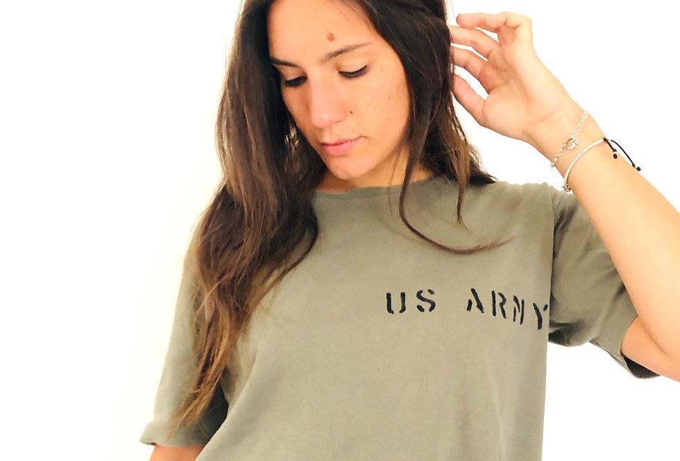 maglietta-t-shirt-crop-us-army-vintage