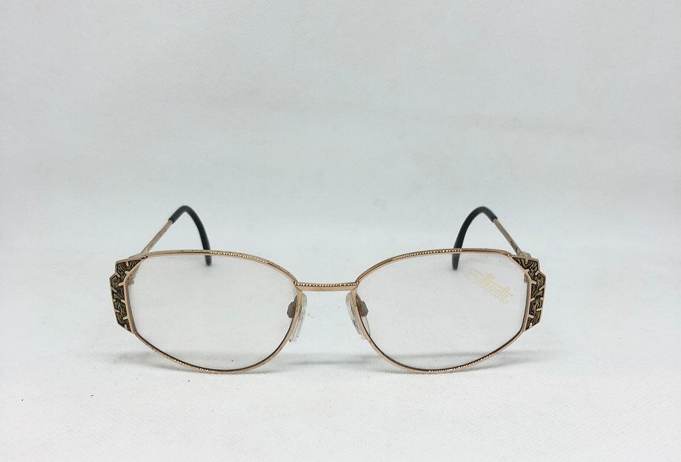 SILHOUETTE m 6172 /20 v 6019 55 17 135 vintage glasses DEADSTOCK