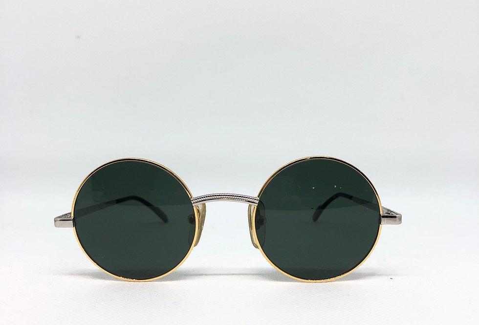 TIFFANY lunette TJ33 46 21 140 C1 platinum vintage sunglasses DEADSTOCK