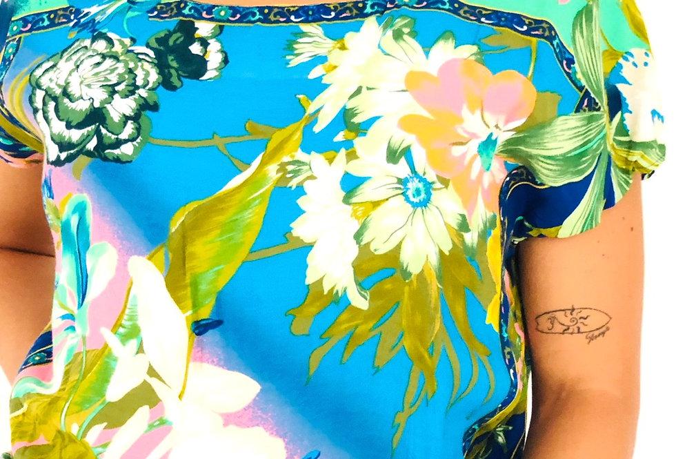 camicia-maglietta-fantasia-fiori-vintage