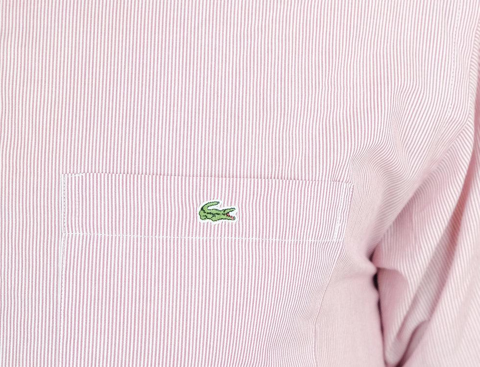 camicia-lacoste-mezza-manica-righe-vintage