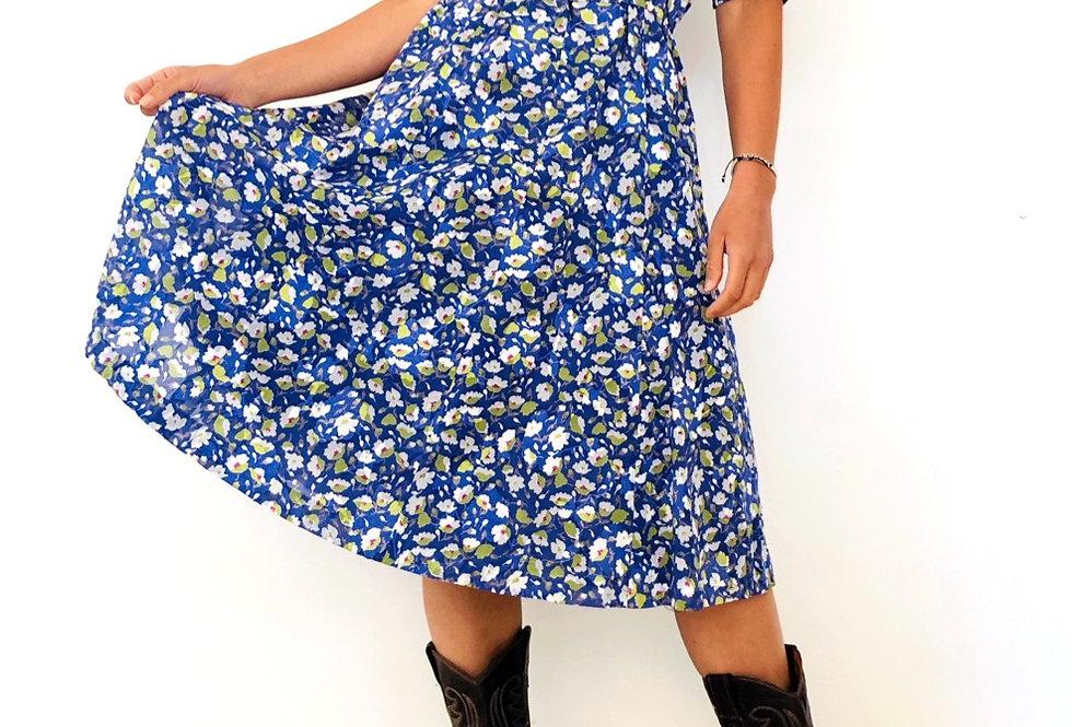 vestito-abito-fiori-vintage