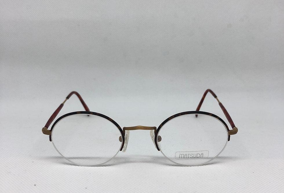 MATSUDA gp 2842 47 22 145 vintage glasses DEADSTOCK