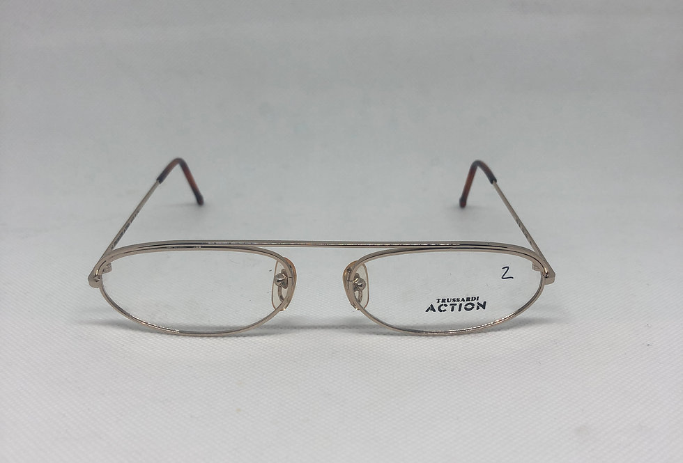 TRUSSARDI action atr 39 000 140 vintage glasses DEADSTOCK