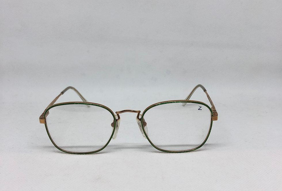 REPORTER 28 OPO 50 20 laminato oro 14kt vintage glasses DEADSTOCK