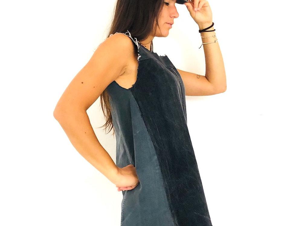 vestito-abito-denim-jeans-vintage