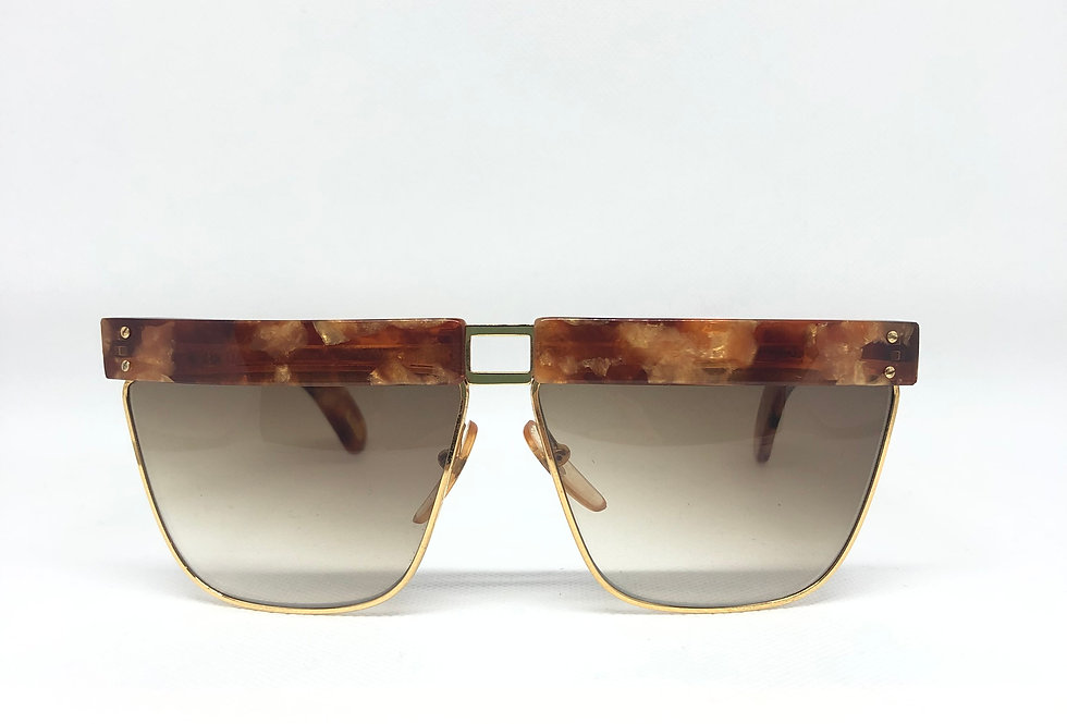 GIANNI VERSACE perspectives 402 751 cu vintage sunglasses DEADSTOCK