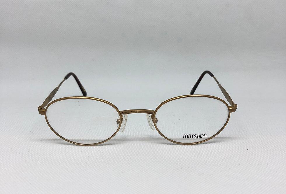 MATSUDA gp 2854 50 21 145 vintage glasses DEADSTOCK