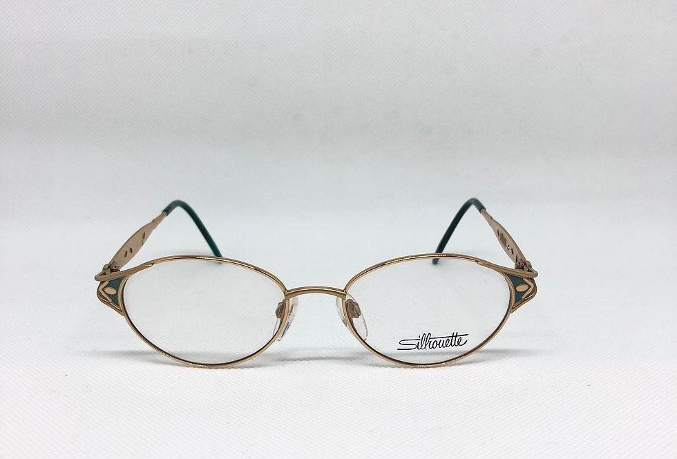 SILHOUETTE m 6282 /30 v 6051 51 17 135 vintage glasses DEADSTOCK