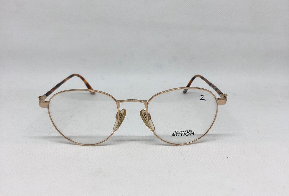 TRUSSARDI atr 71 49 19 000 140 vintage glasses DEADSTOCK