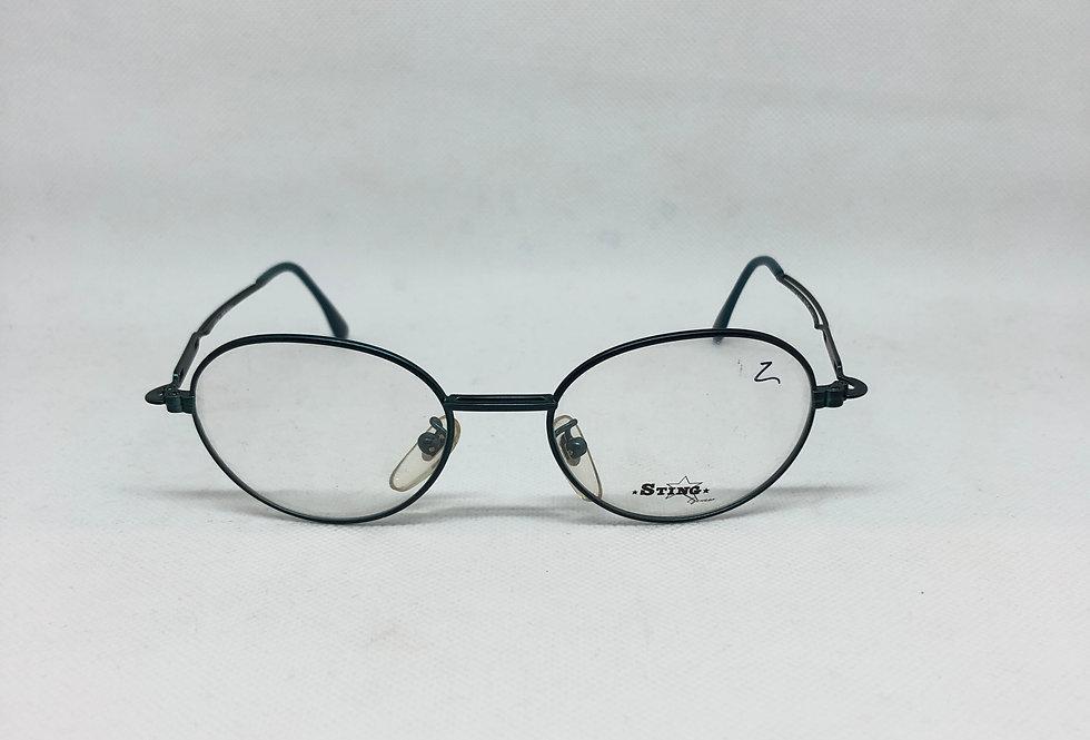 STING 4191 50 18 619 140 vintage glasses DEADSTOCK