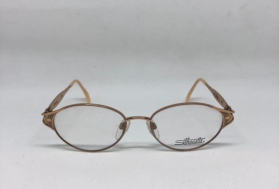 SILHOUETTE m 6282 /30 v 6052 51 17 135 vintage glasses DEADSTOCK