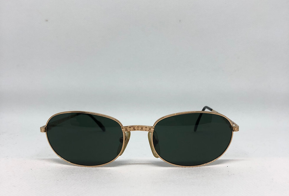 TIFFANY T124 54 18 135 C.4 23K gold plated vintage sunglasses, DEADSTOCK.