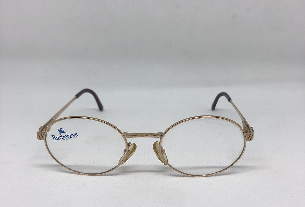 BURBERRYS by SAFILO 140 b 8820 s50 51-20 vintage glasses DEADSTOCK