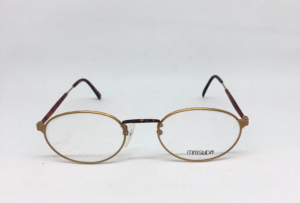 MATSUDA gp2824 50 20 145 vintage glasses DEADSTOCK