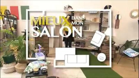 Lampes terrariums déco Green Cocoon dans l'émission Mieux chez soi présentée par Stéphane Plaza et Emmanuelle Rivassoux sur M6