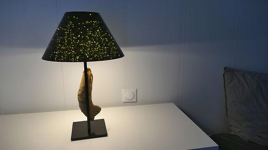 lampe de table unique