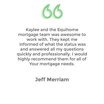 Testimonial Jeff Merriam