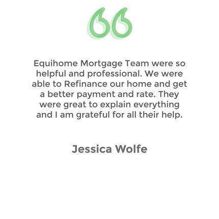 Testimonial Jessica Wolfe