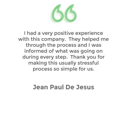 Testimonial Jean Paul De Jesus