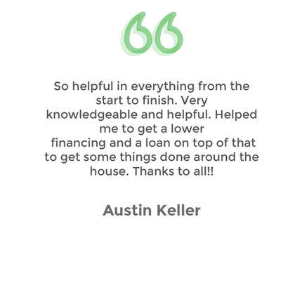 Testimonial Austin Keller