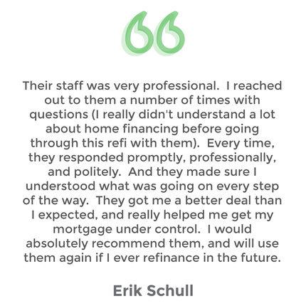 Testimonial Erik Schull