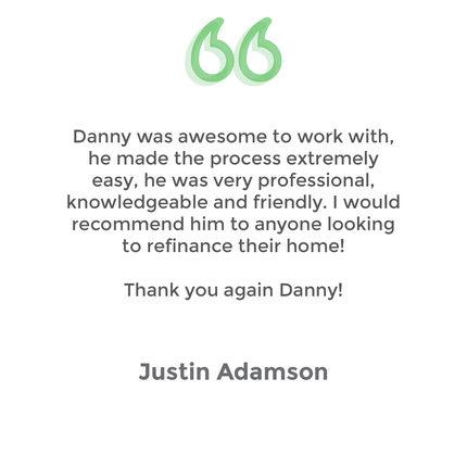 Testimonial Justin Adamson