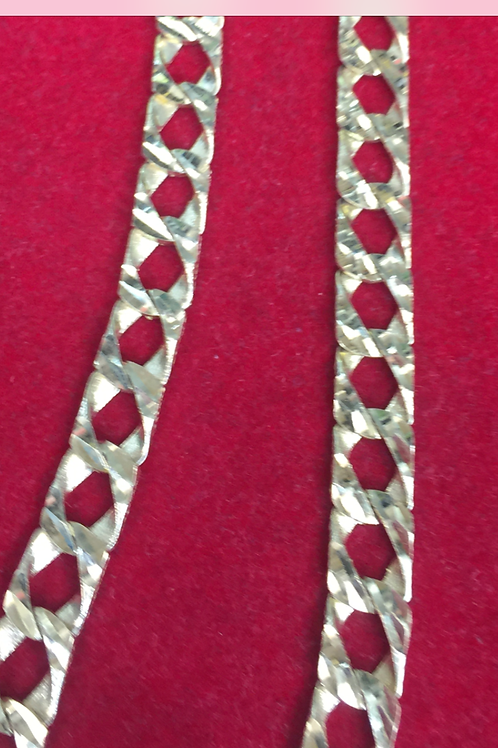 14K gold diamond cut , rope and several style chains.
