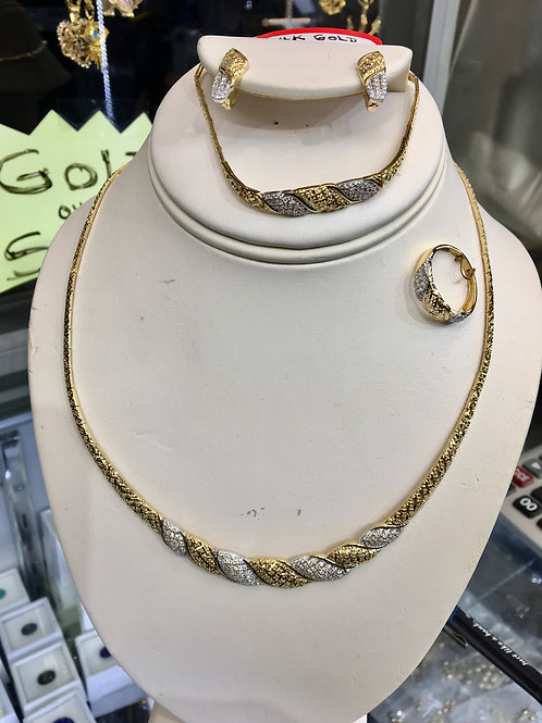 14k Gold Turkish Set