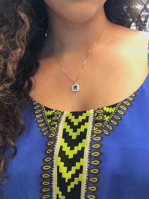 Sterling Silver pendants and earrings.