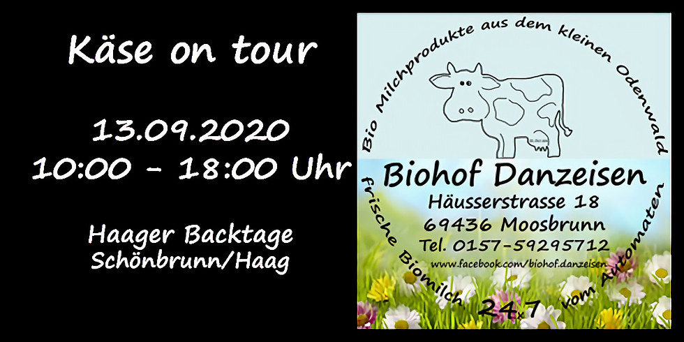 Käse on Tour - Haager Backtage