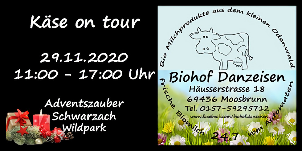 Käse on Tour - Adventszauber Wildpark Schwarzach