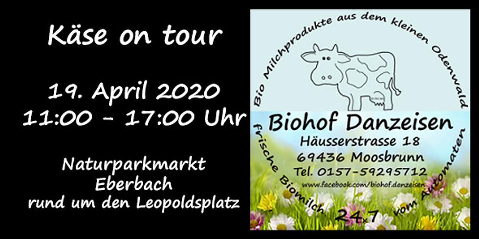 Käse on Tour - Naturparkmarkt Eberbach