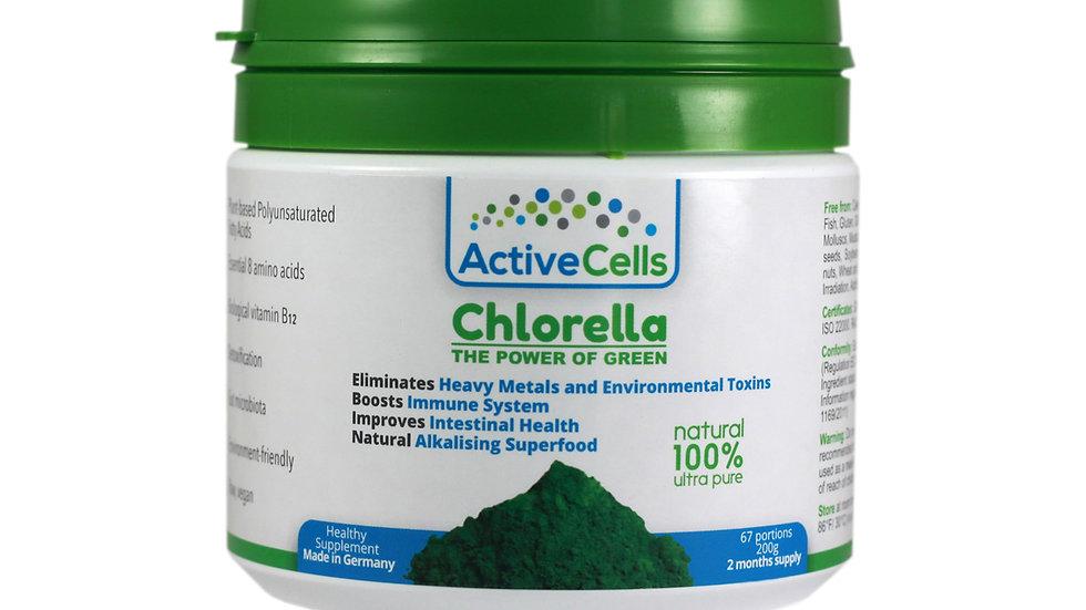 Chlorella Powder 67 portions, 200g