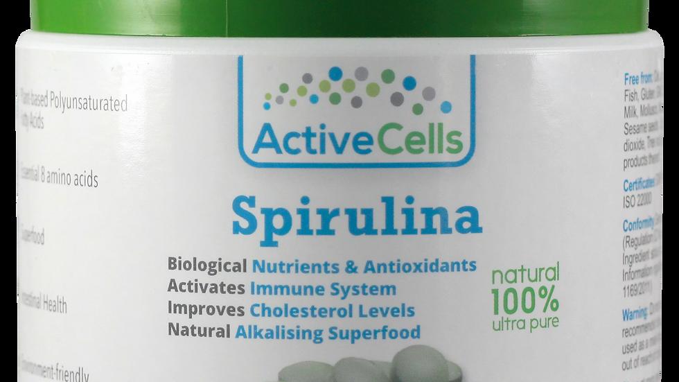 Spirulina Tablets 1,167 tablets, Made in Germany, Halal certified