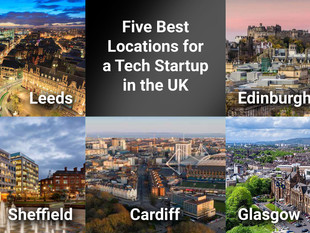 5 Best Locations for a Tech Startup in the UK