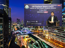 UK and Thailand collaboration towards Smart City: Among 108 companies, 25 were selected