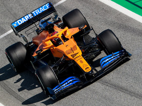 The 2021 McLaren Team launch was kept secure using Darktrace's Cyber AI