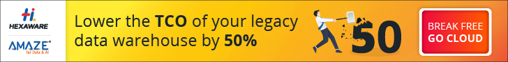 Lower the TCO of your legacy data wareho